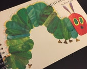 The Very Hungry Caterpillar Recycled Journal Notebook