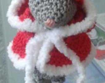 Little mouse...Home decoration...Amigrumi mouse...FREE SHIPPING!!!