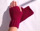 Womens fingerless gloves,crochet gloves,fingerless mittens,gifts for women,wrist warmers,fingerless,