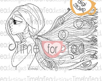 All About The Hair Digital Stamp