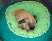 rabbit bed extra plump Ugli Donut for a large size bunny