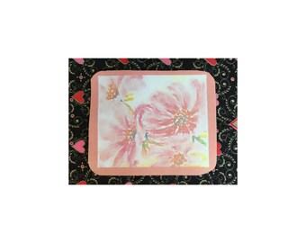 Mousepad   Pink Daisies