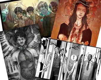 Coey's Hannibal Prints