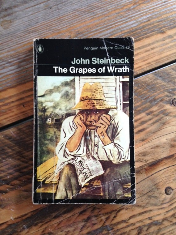 an analysis of the novel the grape of wrath by john steinbeck By viewing the trailer for john ford's the grapes of wrath (1940) one can grasp   john steinbeck's novel, published in 1939, held great importance as a social.