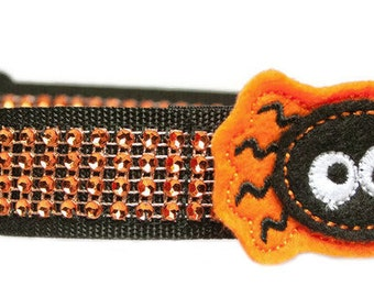 Scary Spider Dog Collar Accessory