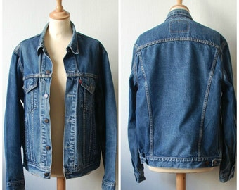 Vintage Levis Jean Jacket, Women's Size M