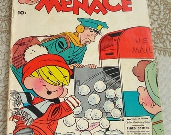 Dennis the Menace Jan 1958 Comic Book, No. 26 Very Fine Condition