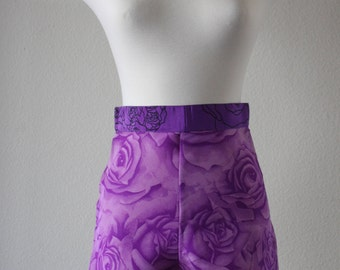 Vintage 1980s Gianni Versace Made In Italy Stylish Floral Shorts Size 4