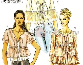 Vogue V8258 Misses' Lightweight Spring or Summer Jacket Sewing Pattern S, M, L