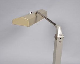 Waldmann Leuchten - vintage Industrial table clamp lamp   by Wolfgang Tümpel