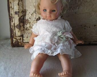 Max Zapf 1986 Baby Doll, Blond Hair & Blue Eyes, Balica Dolls