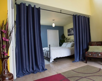 Muslin Room Divider Curtain 8ft 9ft Tall X 5ft 15ft Wide