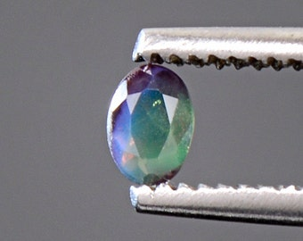 Excellent Russian Alexandrite Color Change Gemstone 0.22 cts.