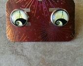 Skellington Silhouette earrings