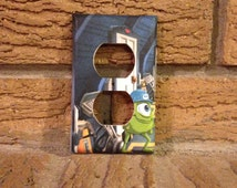 Mike Electrical Outlet Cover Monster Inc, Monsters Inc Nursery, Monster Inc Decoration, Monster Inc Sulley, Monsters Inc Boo