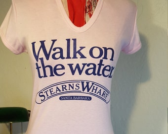 Walk On The Water Tee