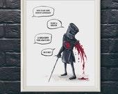 The Black Knight - Monty Python | Print