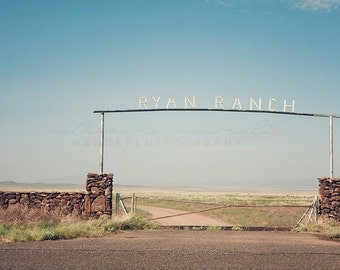 Ryan Ranch - Photographic Print - Marfa, desert, native, southwest, american, green, blue, film, wanderlust, travel, western, hollywood