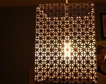 Modern metal pendant light