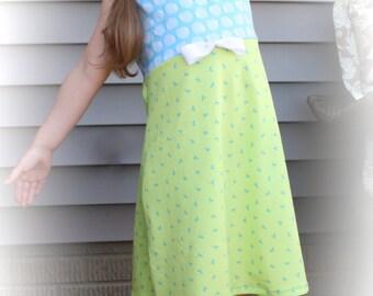 Girl's hedgehog dress