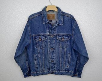SALE! Vintage County Seat Denim Jacket Size Medium