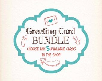 SALE- Greeting Card Bundle Pack