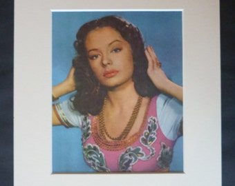 1950s Vintage Hollywood Print, Available Framed, Movie Art, Retro Film Gift, Out of the Past, Jane Greer Decor, Harem Picture, Cinema Art