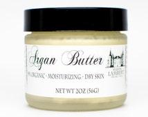 FACE MOISTURIZER- Organic Argan oil, Handmade (Multi-Purpose Moisturizer) Face, Hands, & Body, Lavender Essentail Oil, 2oz