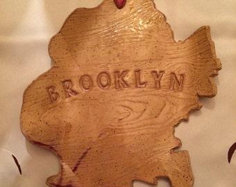 Borough of Brooklyn Plate