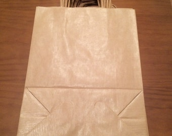 Kraft paper Bags with Handles,Kraft Gift Bags, Kraft Paper Bags, Plain Gift Bags,Brown Kraft Bags,Holiday Gift Bags,Brown Paper Bags