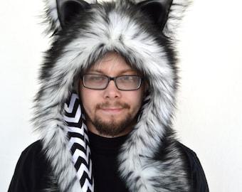 White Wolf Rave Hat