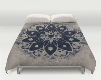 mandala bedspread etsy. Black Bedroom Furniture Sets. Home Design Ideas