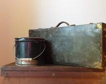 Sample Case ~ 1940's ~ Shoe Salesman's Sample Case ~ Storage ~ Shoe Storage