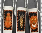 Set of 3 AUTUMN HALLOWEEN POCKETS