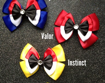 Mystic, Valor, Instinct inspired bows