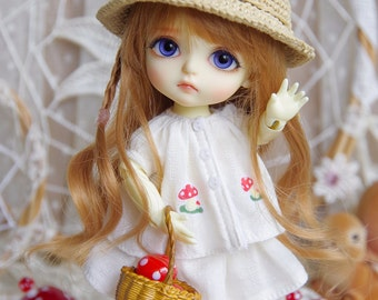 "Lati Yellow/Pukifee - Vintage ""Autumn Harvest"" Top - CreamyWhite"