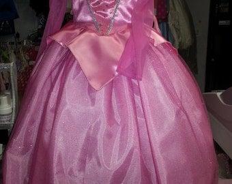 princess sleeping beauty aurora infant toddler child children dress costume