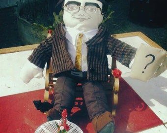 Edward Nygma From Gotham Tv Show Plushie