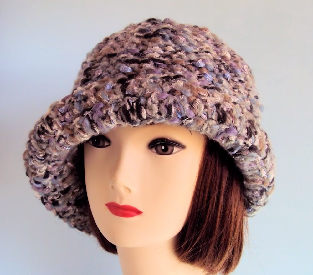 s winter hat knit hat wool hat brim hat fedora