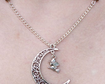 Witch's Moon Necklace