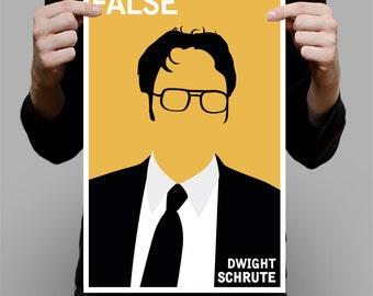 """Dwight Schrute Art Print / Poster - 11"""" x 17"""""""