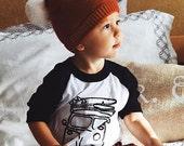 Boys Shirt, Baby Boy Shirt, Unisex Kids Shirt, Baby Shirt, Birthday Outfit, VW Bus Shirt, Black Raglan, Hipster Shirt, Kids Clothing
