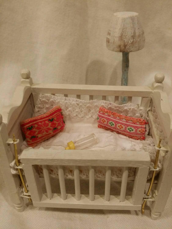 Miniature Baby Doll Crib Doll Crib Small Doll Crib Doll