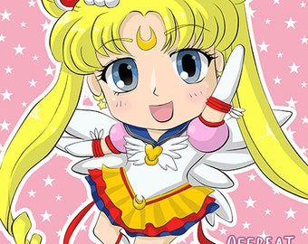 Eternal Sailor Moon Poster Print