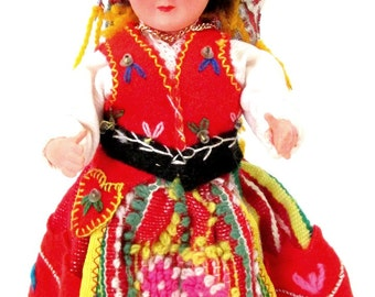 Vintage Portuguese Costume Doll in Traditional Clothes / Portuguese  Folk Doll / Souvenir Doll