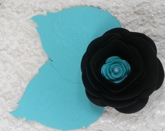 5 LARGE PAPER FLOWERS