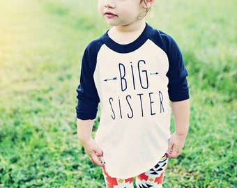 Girls big sis shirt, big sister shirt, little sister shirt, sibling shirts, pregnancy announcement shirt, baby announcement shir