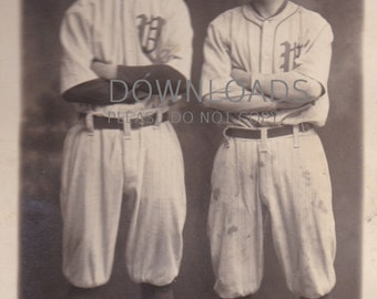Old Baseball Teammates Valdosta, Georgia Millionaires Circa 1913 - Digital Download