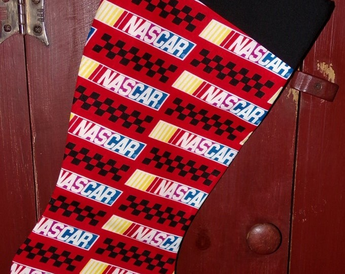 NASCAR. Christmas Stocking