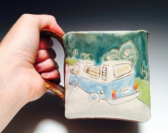 Big Ol' Hearty mug to remind you to go on a road trip.